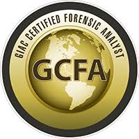 GIAC Certified Forensic Analyst