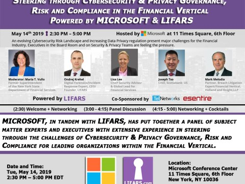 Steering through Cybersecurity & Privacy Governance, Risk and Compliance in the Financial Vertical