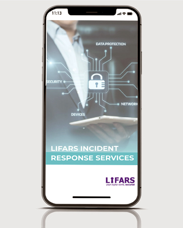 LIFARS, partners with you through our Incident Response Retainer Service to provide peace of mind in knowing you have an experienced partner to address any cybersecurity incident that threatens your firm.