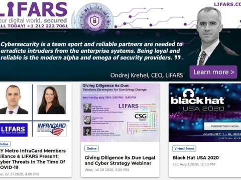 NY Metro InfraGard Members Alliance & LIFARS Present: Cyber Threats In The Time Of COVID-19