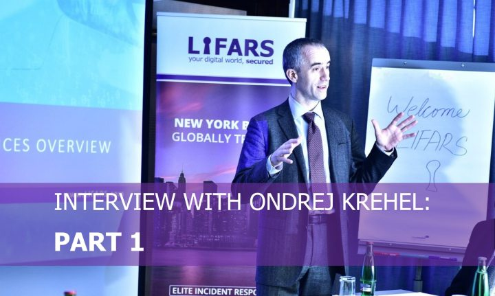 Interview With Ondrej Krehel Part 1