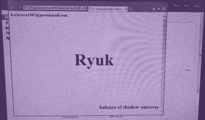 New Self-Replicating Ryuk Ransomware Strain Sparks Fear Among Security Experts and Businesses