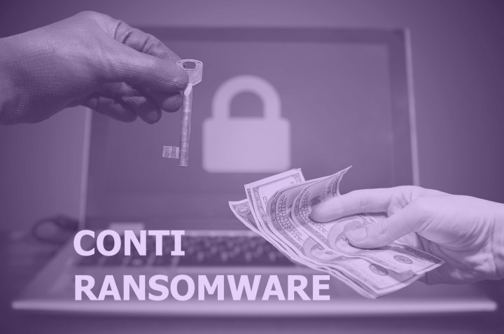Cross Section of the Conti Ransomware Attack and its TTPs