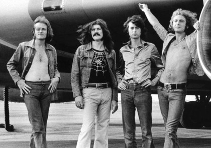 Led Zeppelin árið 1973