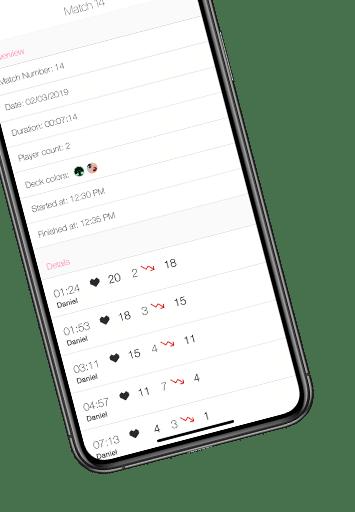 Life Counter App für MtG
