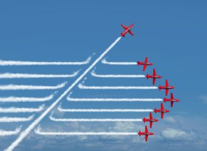 A different approach! - Red Arrows