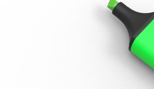 【蛍光ペンの落とし方】服の洗濯や染み抜き方法【インク汚れを消す!】