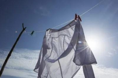 洗濯を夜に干すメリット