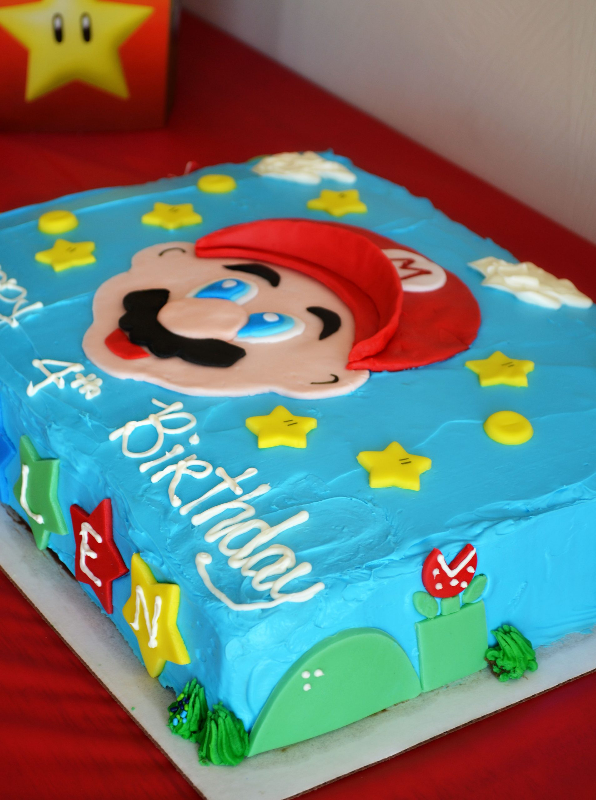 Super Mario Cake The Best Cake Of 2018