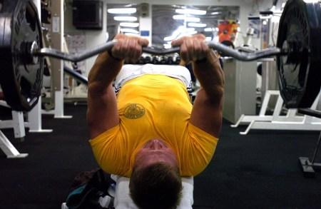 三頭筋のトレーニング