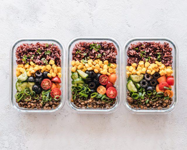 1日の食事からの栄養素摂取
