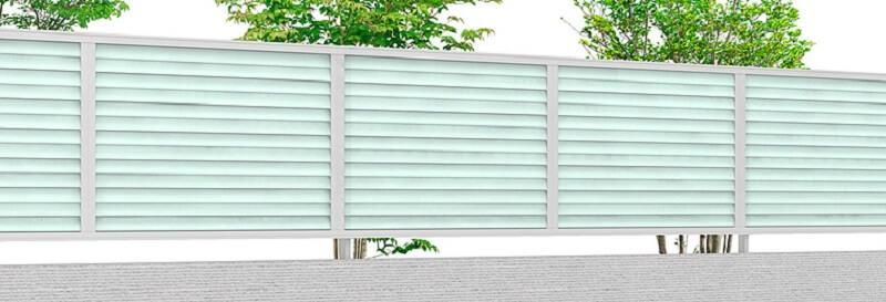 シンプルで洗練されたデザインのおしゃれなフェンス LIXIL:プレスタフェンス|愛知県幸田町、碧南市を中心に三河地区№1スタッフ数のエクステリア・外構 ライフ・ランド