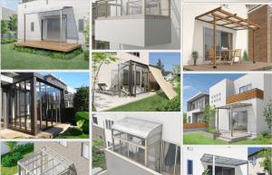 テラス屋根・ガーデンルーム ・サンルーム ギャラリー