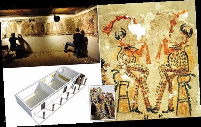 Фрески Майя найдены во время ремонта дома в Гватемале