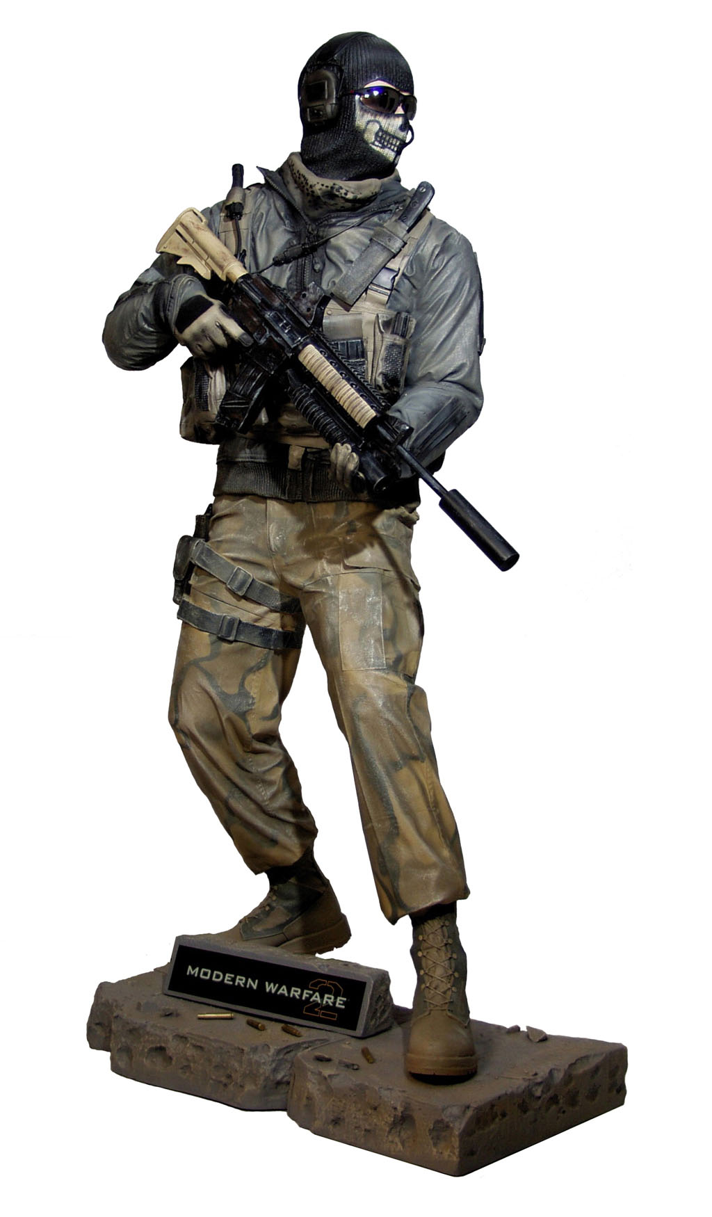 Call Of Duty Ghost 2 : ghost, Duty:, Modern, Warfare, Ghost, Life-Size, Statue, Oxmox, Muckle
