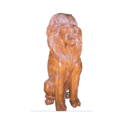 Realistic Models Sculpture Life Sized Model Life Size Replica statue cars Replica Models Dinosaurs life size figurines Albashed Alba shed Wooden Lion 9654437