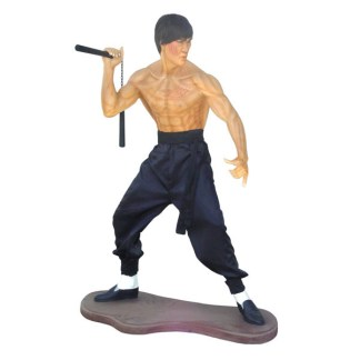 Kung Fu Fighter Life Size 3D Realistic Figure
