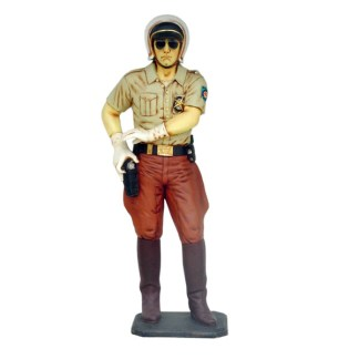 Police Officer 3D Realistic Life Size Figure