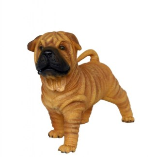 Realistic Models Sculpture Life Sized Model Life Size Replica statue cars Replica Models Dinosaurs life size figurines Albashed Alba shed Shar Pei Puppy Realistic Lifesize Model