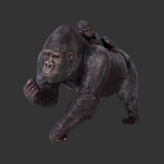 Gorilla and Baby-Lifesize-Realisti-Model