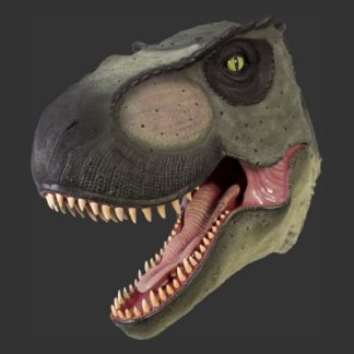Giant T Rex Head 110106-Life Size Models Realistic Models Sculpture Life Sized Model Life Size Replica statue cars Replica Models Dinosaurs life size figurines Albshed lifesize models Alba shed