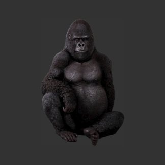 Silver Back Gorilla Life Size Model