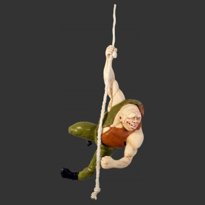 Quasimodo On Rope Life Size Model