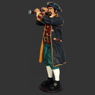 Captain Paruche Life Size Pirate Model