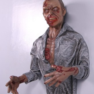 Zombie Wall Decor Realistic 3D Wall Art