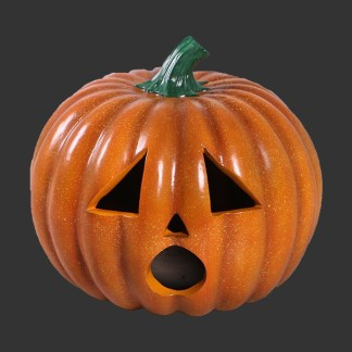 Sad Face Pumpkin 3D Realistic figure