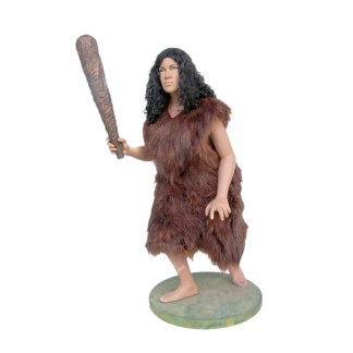 Cavewoman Life Size 3D Realistic Figure