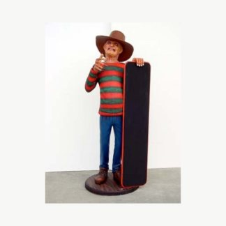 Freddy Menu Board 3D Realistic Figure
