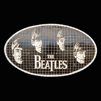 British Icon 3D Mosaic Wall Decor