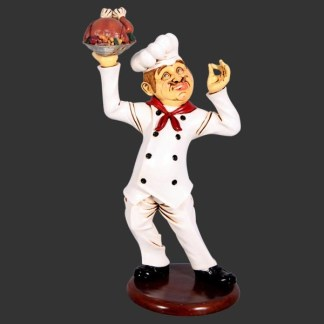 Finger Lickin Chicken Chef Counter Top 3D Advertising Model