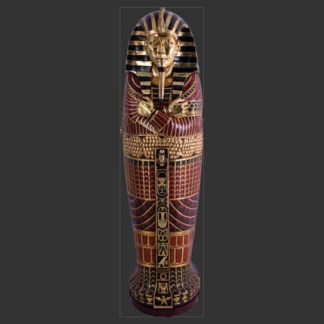 King Sarcophagus 3D Realistic Figure
