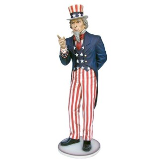 Uncle Sam 8ft Realistic 3D Figure