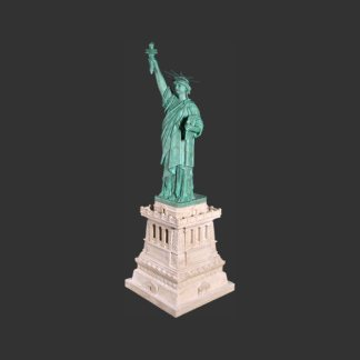 Statue Of Liberty Base 3D Landmark Statue