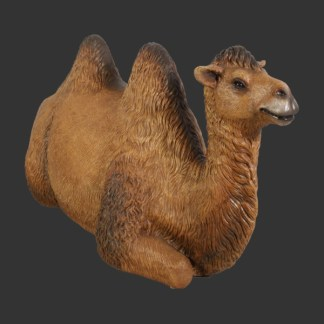 Bactrian Camel Resting 3D Realistic Life Size Statue