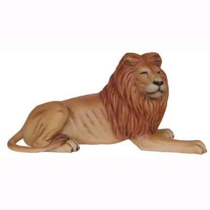 Lion King 3D Realistic Life Size Wild Animal Statue