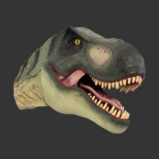 Definitive T-Rex Head Model 3D Realistic Dinosaur Statue