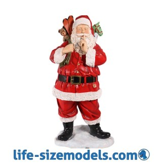 Santa Claus with Toys Lifesize Christmas Figure