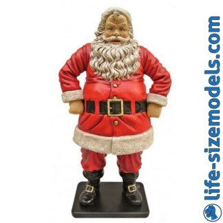 Jolly Santa 4ft Figure Christmas Model
