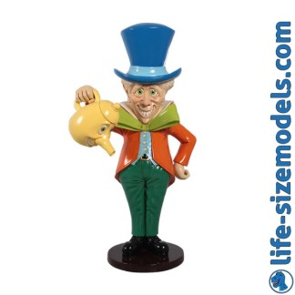 Mad Hatter 3D Alice in Wonderland Figure