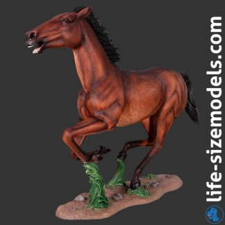 Horse Galloping Statue Life Size Horse Model
