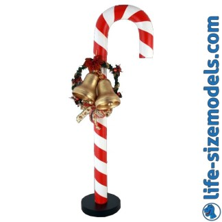 Candy Cane Figure 3D Realistic Lifesize Christmas Model