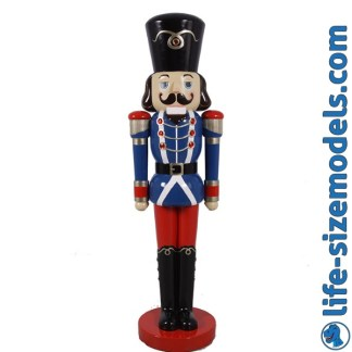 Nutcracker Soldier 10ft Figure 3D Realistic Lifesize Christmas Model