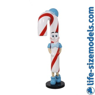 Candy Cane Jr Figure 3D Realistic Life Size Christmas Model