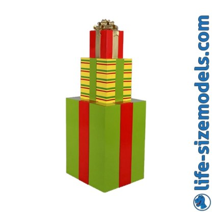 Gift Stack 3D Realistic lifesize Christmas Model