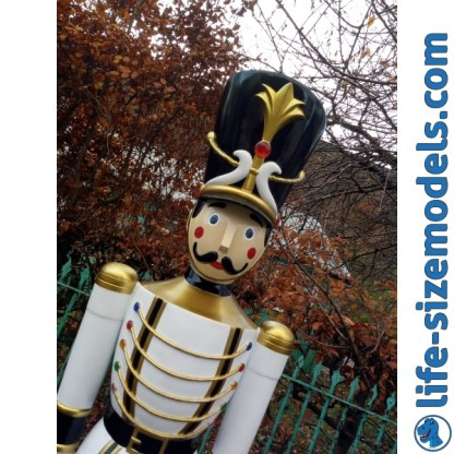 Toy Soldier 6.5ft Figure-White