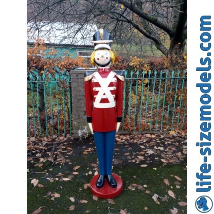 Tin Soldier 5ft Figure